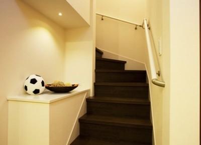 姫路 西延末モデルハウス 階段