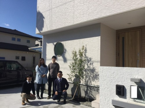 勝美住宅姫路 お客様のお家1ヵ月点検の様子
