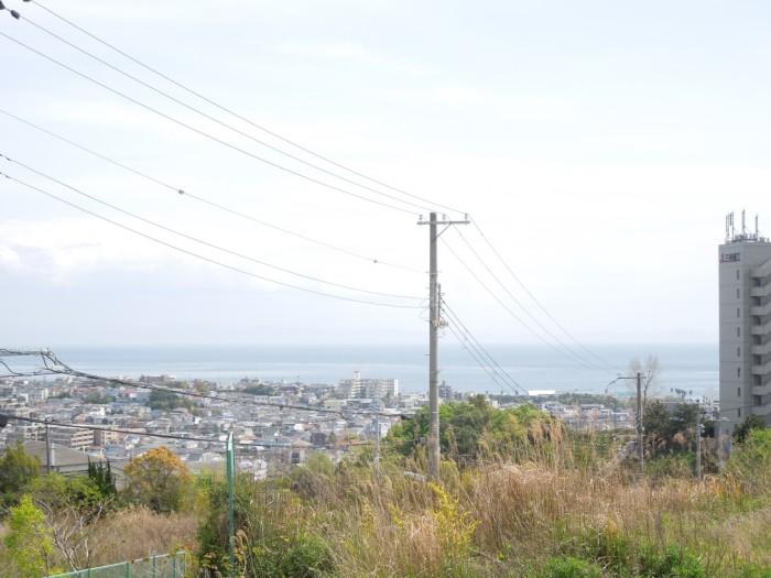 パールヒルズ高丸 現地からの眺望