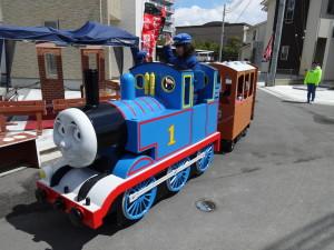 加古川市安田の機関車トーマス