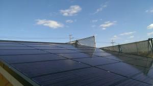 太陽光パネル一体型屋根2