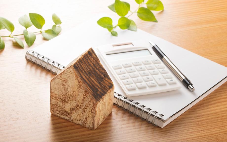 住宅ローンを計算するイメージ