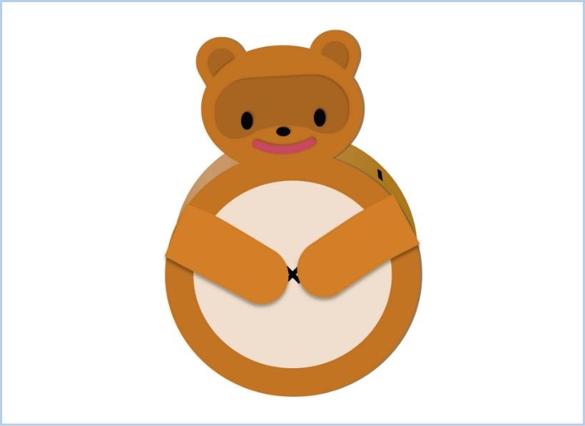 ①お金が消える貯金箱