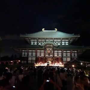 東大寺:燈花会1