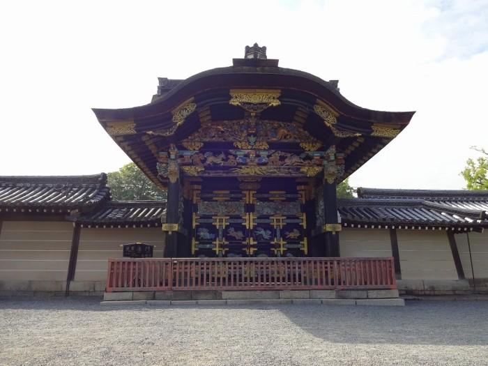 西本願寺・唐門4