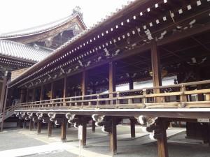 西本願寺・渡り廊下3