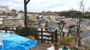 ウッドデッキ2期工事 神戸市