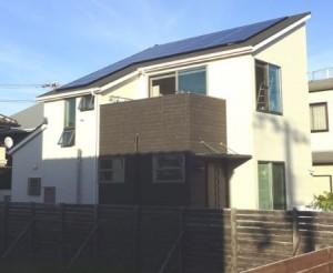 太陽光発電設置完了