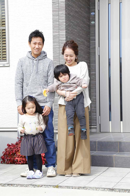<p>奥様のお姉さま夫婦に勝美住宅を紹介して頂いたそうですね。</p>
