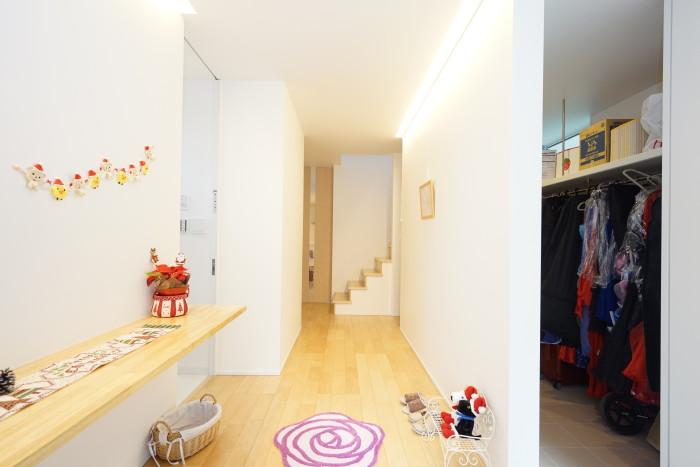 <p>子どもさんが勝美住宅のキッズスペースを気に入っていたそうですね</p>