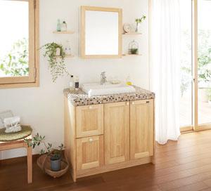 woodone洗面化粧台