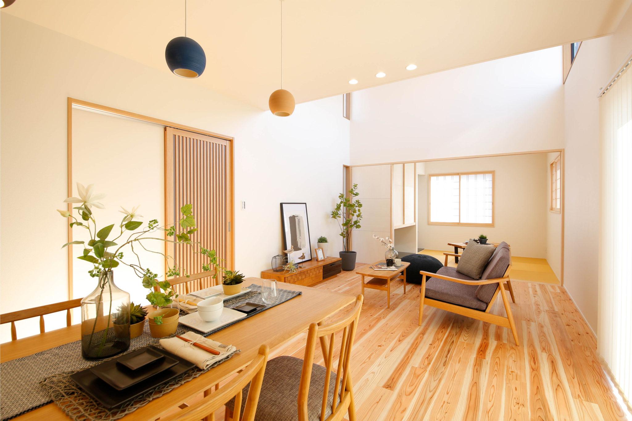 「在宅ワークスペースのある住まい」鵤モデルハウス