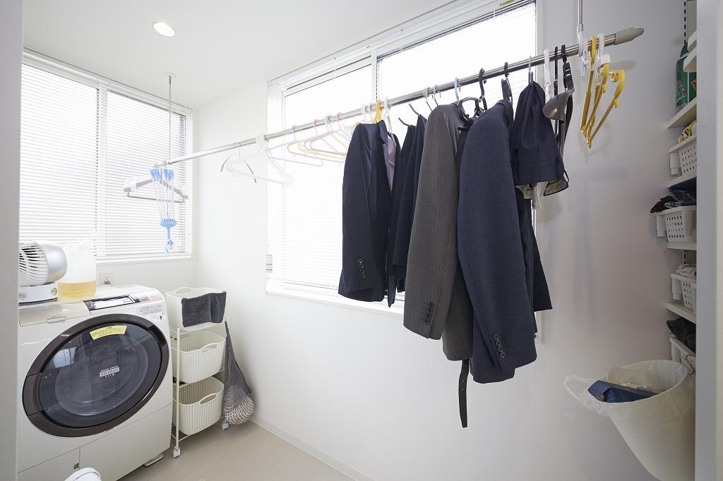 vol.68 洗濯室で洗濯作業がほとんど完結。家事楽に